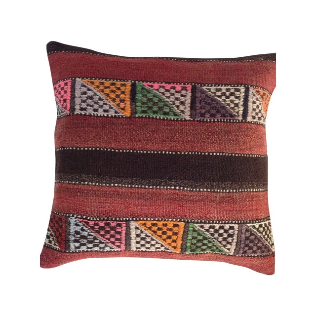 Turkish Kilim Pillow - Image 1 of 5