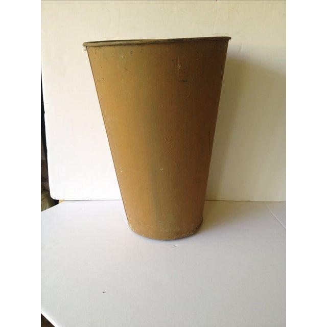 Vintage Painted Sap Bucket - Image 6 of 9