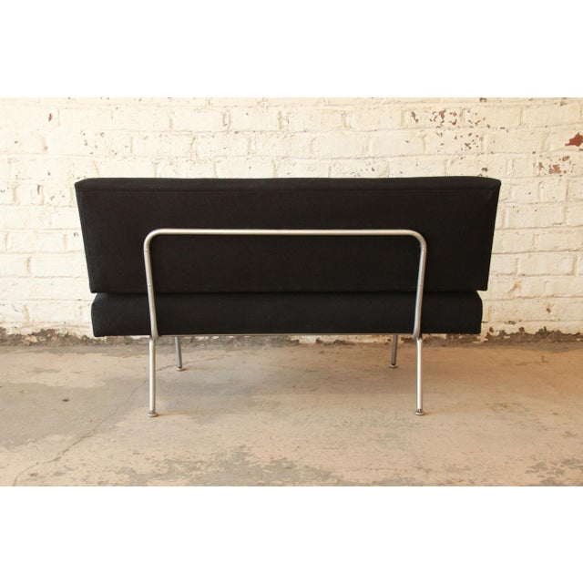 1950s Vintage Florence Knoll Settee - Image 6 of 9