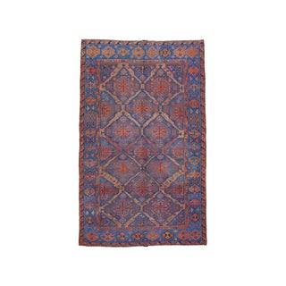 Caucasian Sumak Carpet - 7′4″ × 12′ For Sale