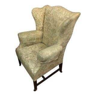 """Centennial """"Federal"""" Wing Chair For Sale"""