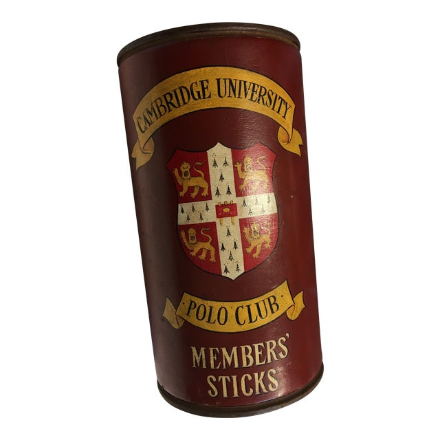 Cambridge University Polo Club Members Sticks Can - Image 1 of 7