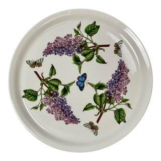 Vintage Portmeirion Botanic Garden Lilac Serving Platter For Sale