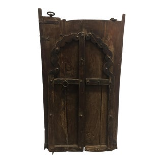 Antique Wooden Door From India For Sale