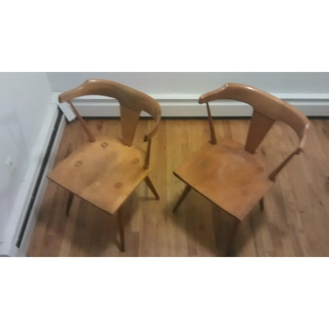 Paul McCobb Mid Century Modern Dining Chairs - a Pair - Image 4 of 9