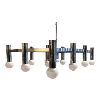 Sciolari Style Large Mid Century Modern Light Fixture