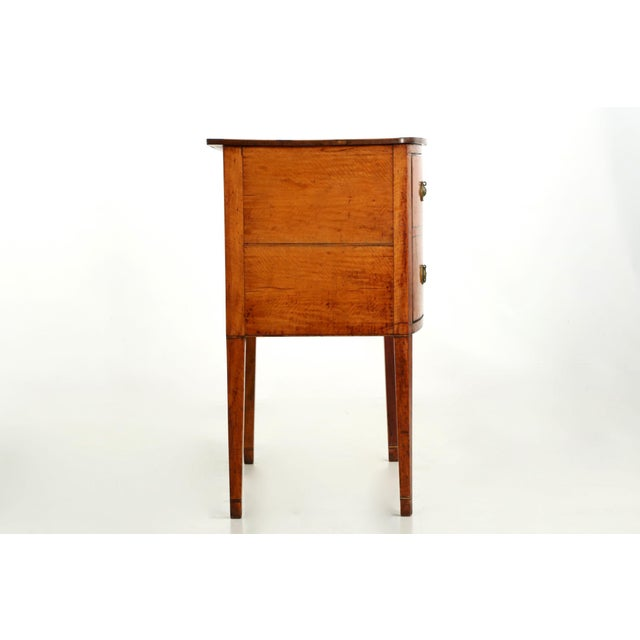 C. 1780 George III Satinwood Commode - Image 3 of 10