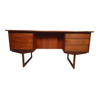 Mid-Century Executive Danish Desk For Sale