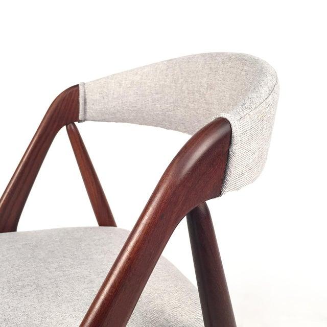 Vintage Danish Kai Kristiansen Model #31 Teak Dining Chairs - Set of 4 - Image 5 of 9