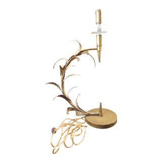 Gold Wheat Florentine Table Lamp
