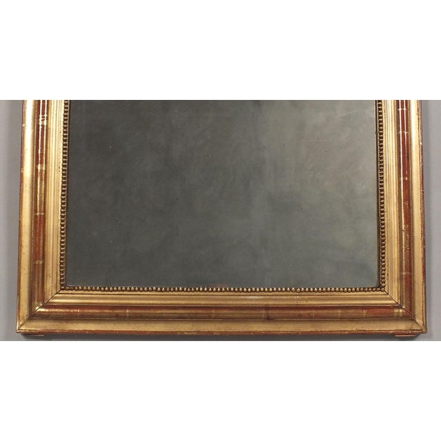 Antique French Louis XVI Giltwood Mirror - Image 3 of 10