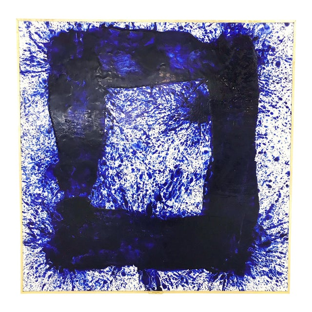 "John O'Hara ""Blue 30"" Painting For Sale"