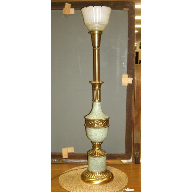Mid 20th Century Vintage Hollywood, Torchiere Table Lamps