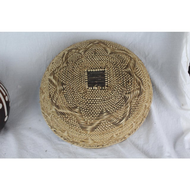 Mid 20th Century Ghanian Basket For Sale - Image 5 of 9