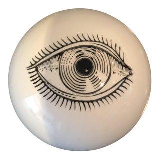 Fornasetti Italian Eyeball Paperweight For Sale