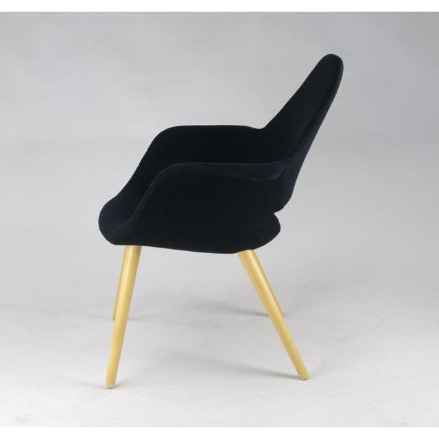 Charles Eames & Eero Saarinen Vitra Organic Chair - Image 4 of 9