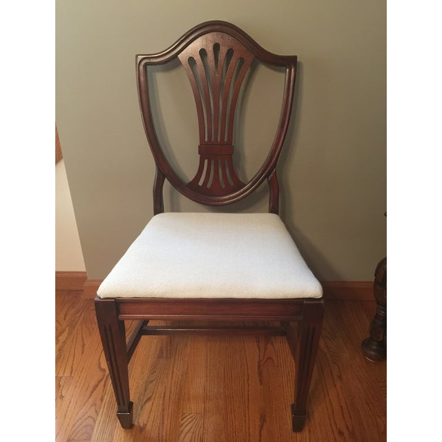 Brown Early 20th Century Hepplewhite Chair For Sale - Image 8 of 11