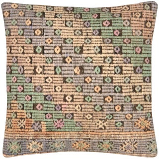 "Nalbandian - 1960s Turkish Cicim Pillow - 20"" X 20"" For Sale"