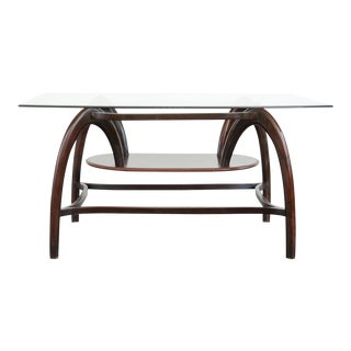 20th Century Modern Bentwood Dining Table For Sale
