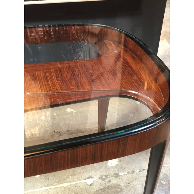 Midcentury Dining Table in Cherrywood by Paolo Buffa for Arrighi, Italy, 1940s For Sale - Image 11 of 12