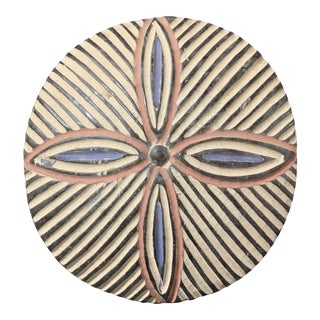 Carved Wooden African Art Zulu Shield For Sale