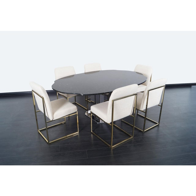 Danish Modern Exceptional Italian Dining Table For Sale - Image 3 of 8