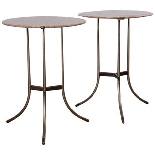 Pair of Side Tables by Cedric Hartman For Sale
