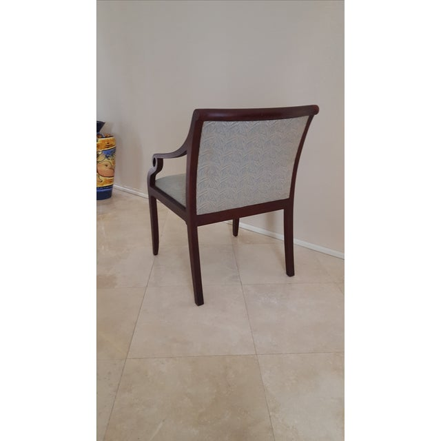 David Edward Accent Chairs - A Pair - Image 4 of 7