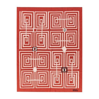 Maison Leleu - Infini Squares Cashmere Blanket, King For Sale