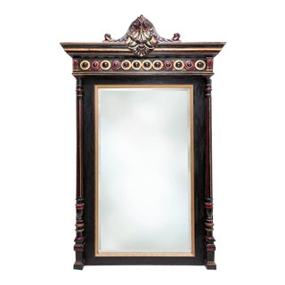 Regency Style Overmantel Mirror