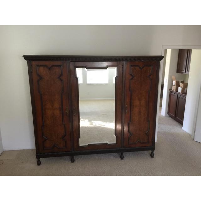 19th Century Mediterranean 3- Door Armoire For Sale - Image 11 of 11