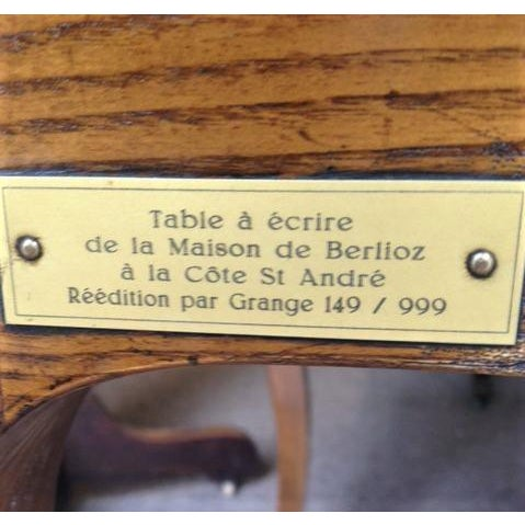French Rustic Ash Writing Table For Sale - Image 9 of 10