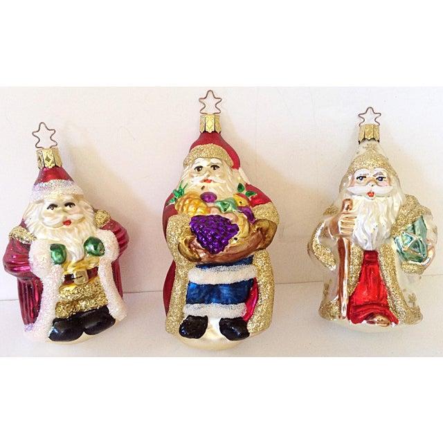 Old World Santa Ornaments - Set of 3 - Image 2 of 3