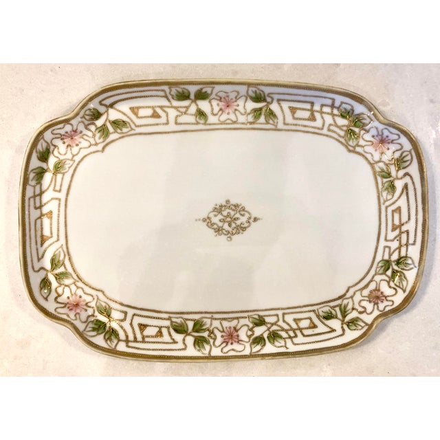 Morimura Nippon Moriage Dressing Table Tray For Sale - Image 11 of 11