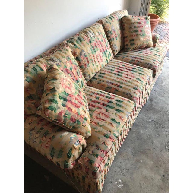 Bought this couch back in the floral trends of the early-late 2000's. Used it for a year and a half, when I moved out it...
