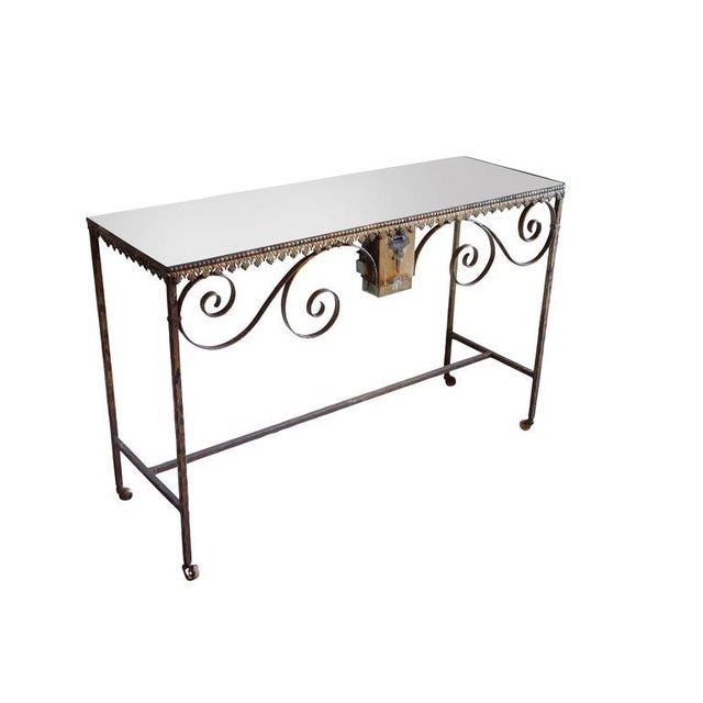 Wrought Iron Church Offerings Console - Image 2 of 7