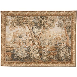 "Chinese Abusson Landscape Tapestry. 5'7""x 8'"