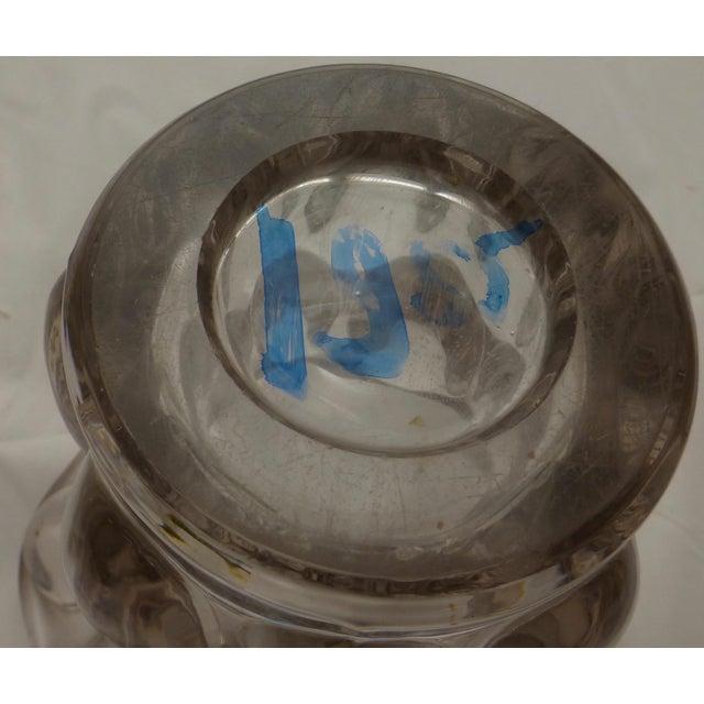 Mid-Century Modern Bubble Glass Vase - Image 8 of 11