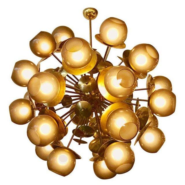 Lampadina Sputnik Chandelier by Fabio Ltd For Sale - Image 10 of 10