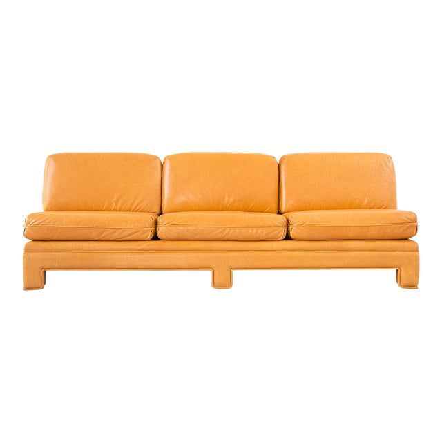 Baughman Armless Sofa - Image 1 of 11