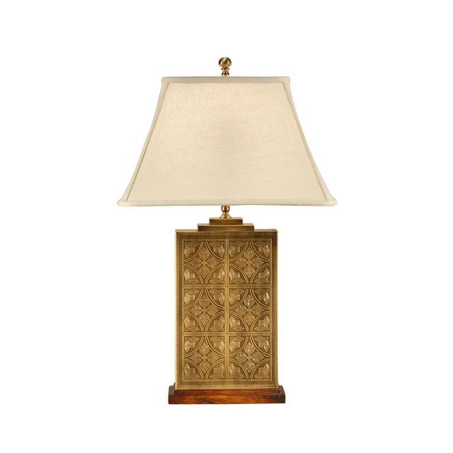 Traditional Wildwood Tea Box Lamp For Sale - Image 3 of 3