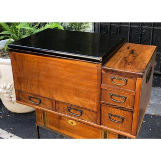 Antique Japanese Five Drawer Copper Lined Hibachi C.1870 Preview