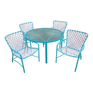 1960s Vintage Brown Jordan Tami Ami Dining Set- 5 Pieces For Sale