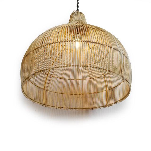 Asian Gourd Stick Lantern Medium For Sale - Image 3 of 5