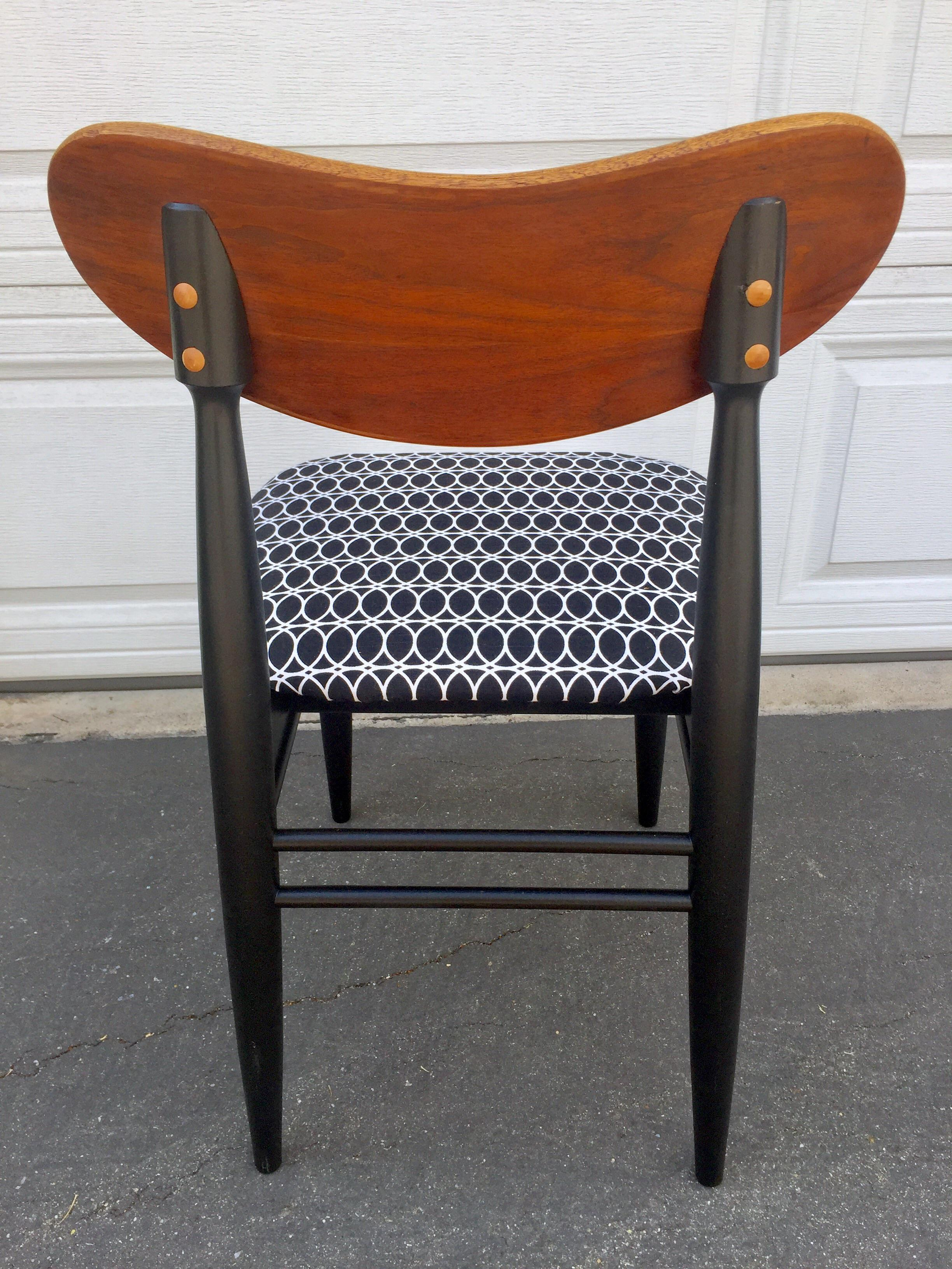 Vintage Walter Wabash Chairs   Set Of 5   Image 6 Of 6
