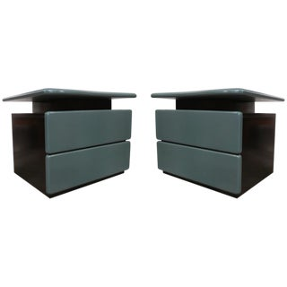 Canadian Pair of Side Tables by Rougier For Sale