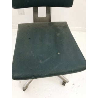 Vintage Industrial Green Swivel Office Chair by Goodform Preview
