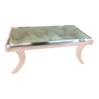 Athena Acrylic Cocktail Table, by Allan Knight For Sale