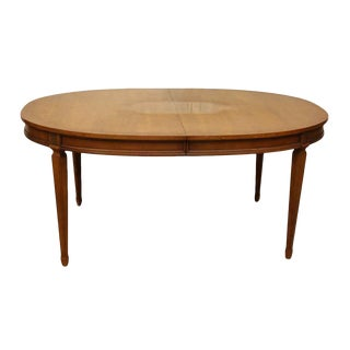 Oval Cherry Table For Sale