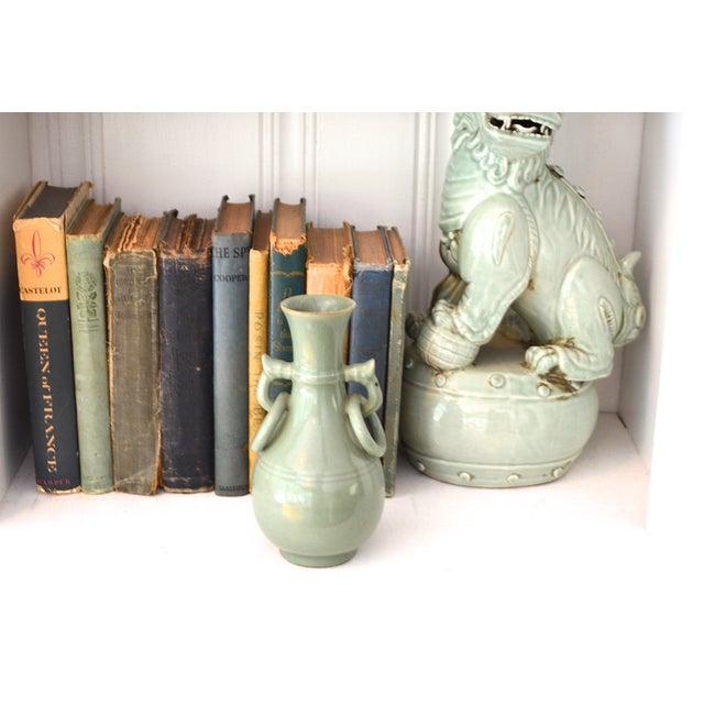 Vintage Asian Glazed Vase/Pot - Image 3 of 6